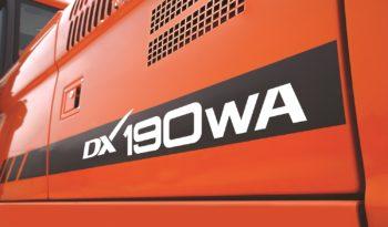 Doosan DX190WA full